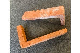 Eckstück  Vintage Zement